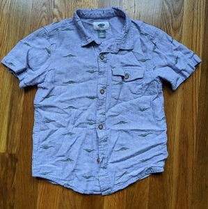Youth button up shirt